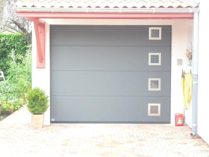 Porte sectionnelle hormann avec les meilleures collections for Installation porte de garage basculante