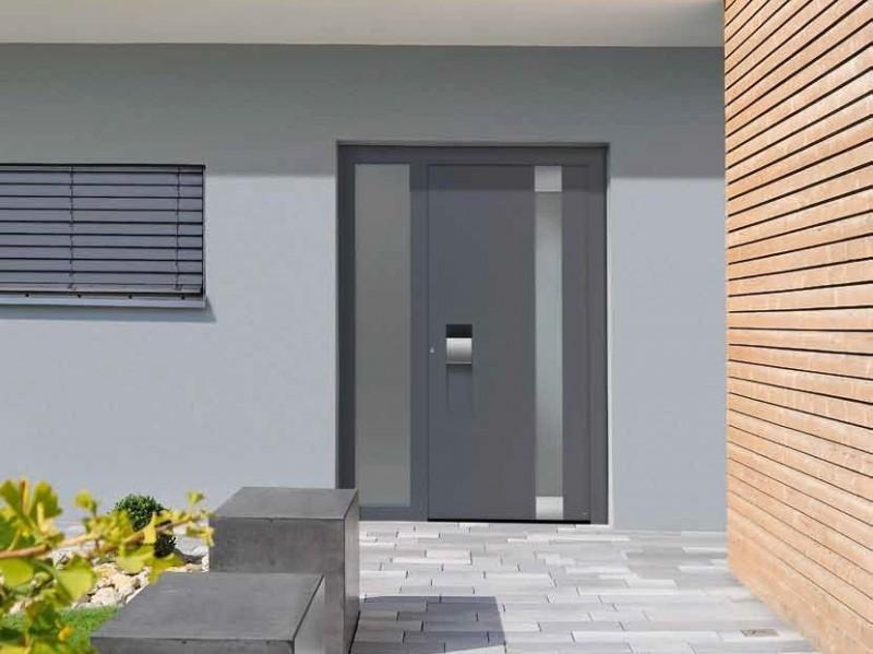 Fabricant de portes d 39 entr e en aluminium valence safelec - Porte d entree hormann ...