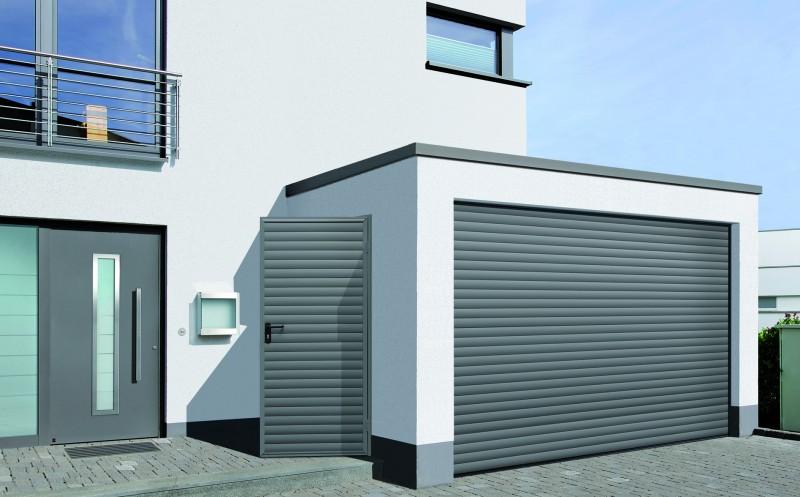 porte enroulable pour garage rollmatic safelec. Black Bedroom Furniture Sets. Home Design Ideas