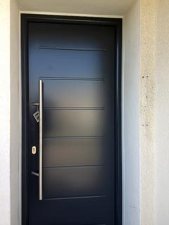 porte d 39 entr e en aluminium thermopro hormann safelec. Black Bedroom Furniture Sets. Home Design Ideas