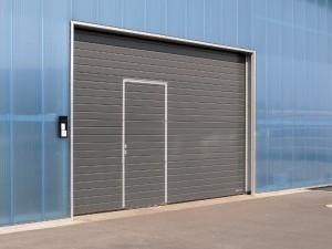 Porte Sectionnelle avec portillon SPU - Hormann