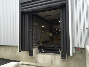 équipement de quai DOBO HORMANN installalé a Valence